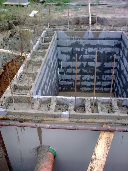 Montáž hydroizolační vložky proti tlakové vodě1