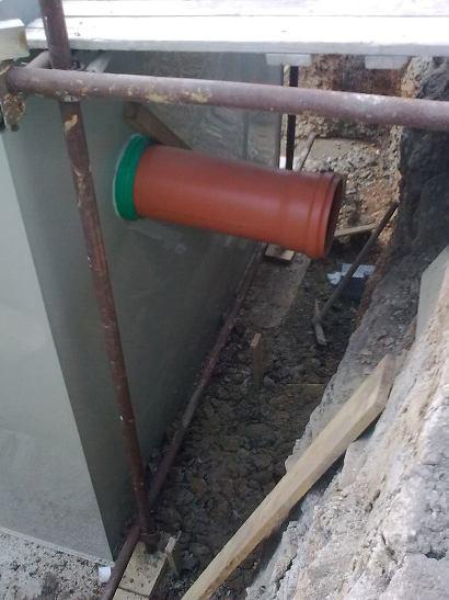 Montáž hydroizolační vložky proti tlakové vodě5