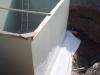 Montáž hydroizolační vložky proti tlakové vodě osazení na tkaninu